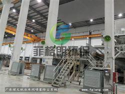 东莞造纸厂车间喷雾降温设备
