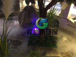 广州水幕雾屏投影设计