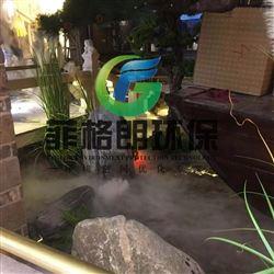 餐厅雾屏投影成像系统