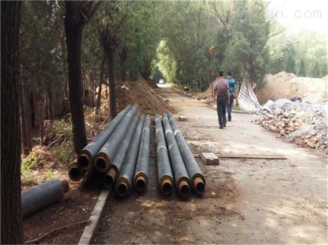 地埋塑套钢预制保温管出厂价格
