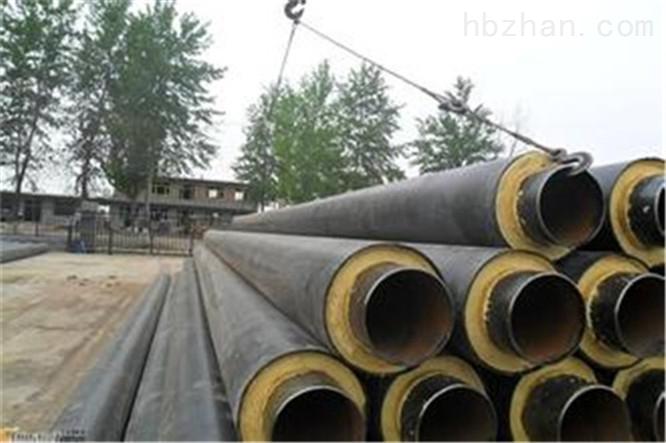 直埋式聚乙烯预制保温管生产流程