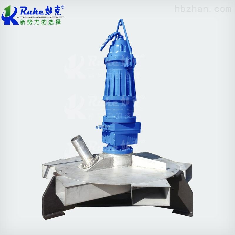 厂家直供SBJ深水曝气搅拌两用机离心爆气