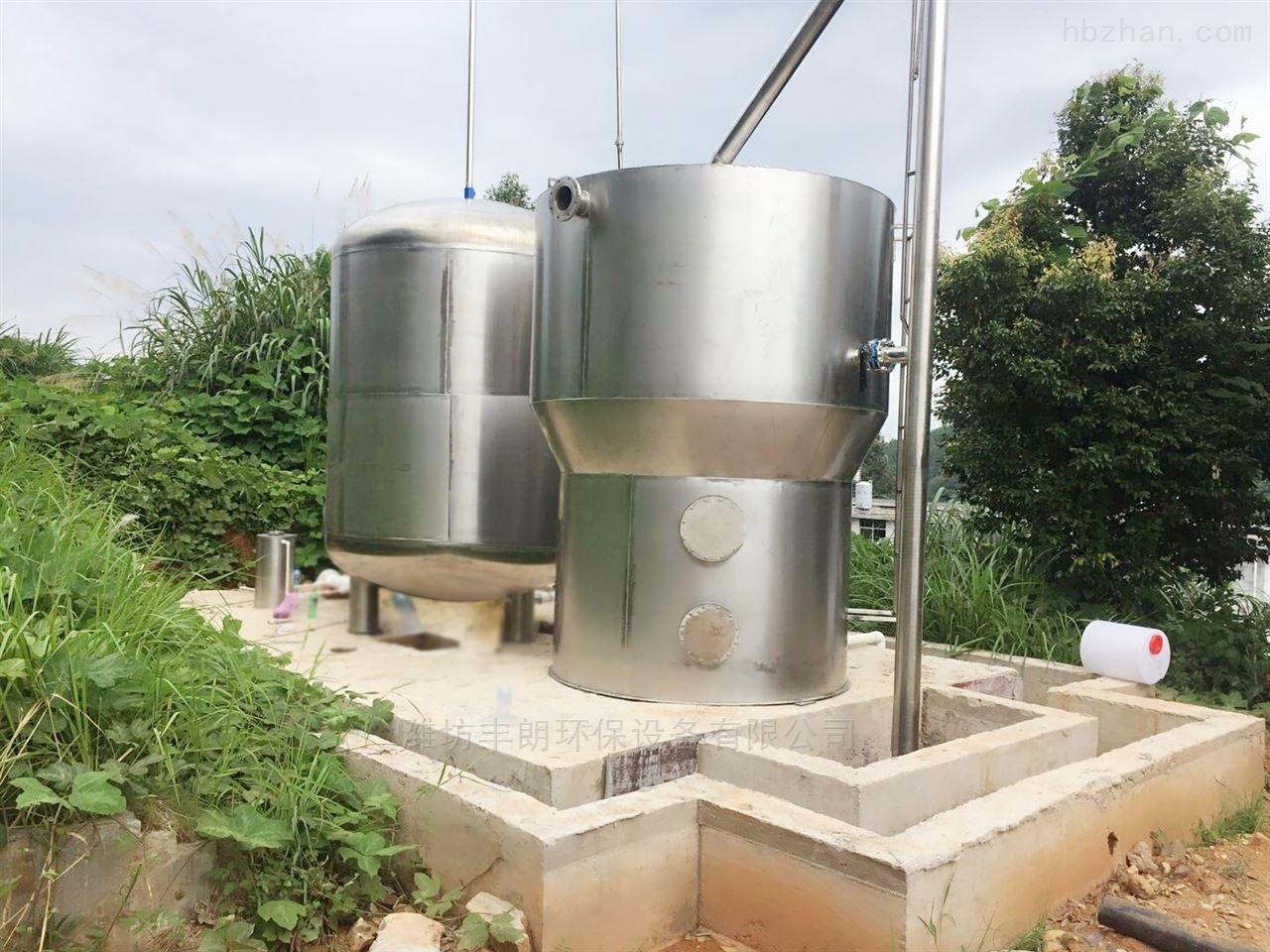 山东无动力不锈钢一体化净水器生产厂家
