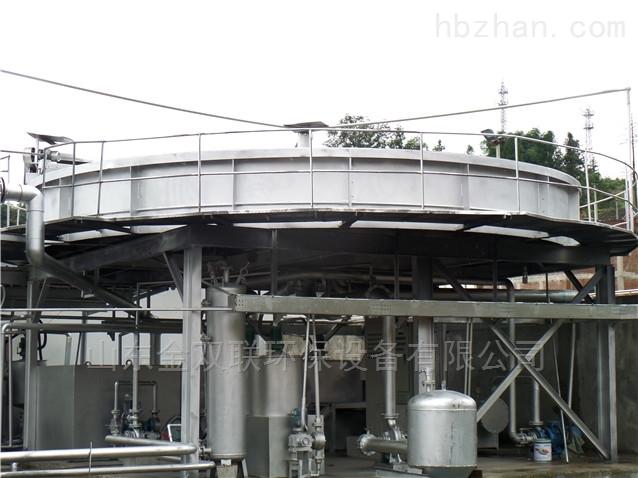浅层气浮机的构造及工作过程