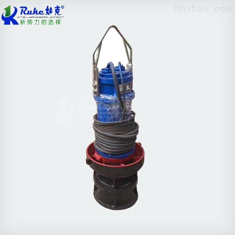 克环保立式潜水轴流泵混流泵产品示意图