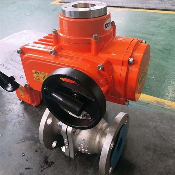电动美标球阀Q941F-150LB