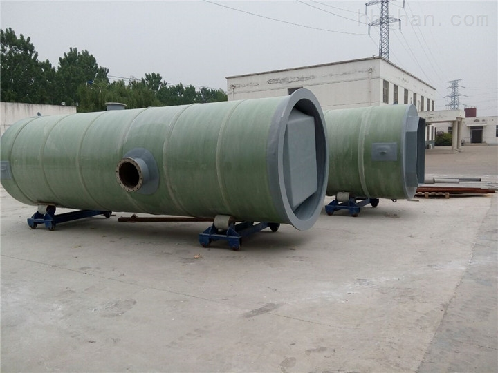 江苏省常州市玻璃钢一体化预制泵站