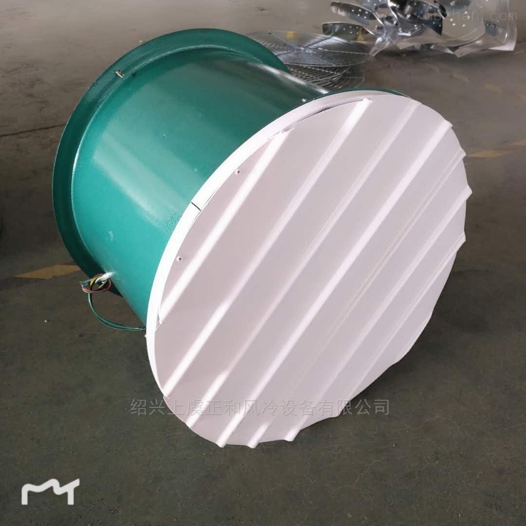 浙江风机T35系列钢制轴流风机配自垂百叶