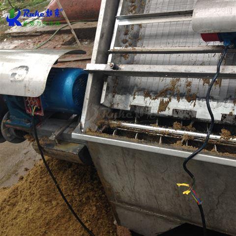 弹簧挤压螺旋输送固液分离机