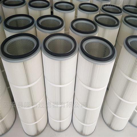 厂家批发325*215*1500聚酯纤维除尘滤筒
