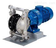 电动隔膜泵结构图及工作原理