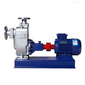 ZWP型不锈钢自吸无堵塞排污泵