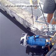 推流型搅拌机 潜水卧式推流器