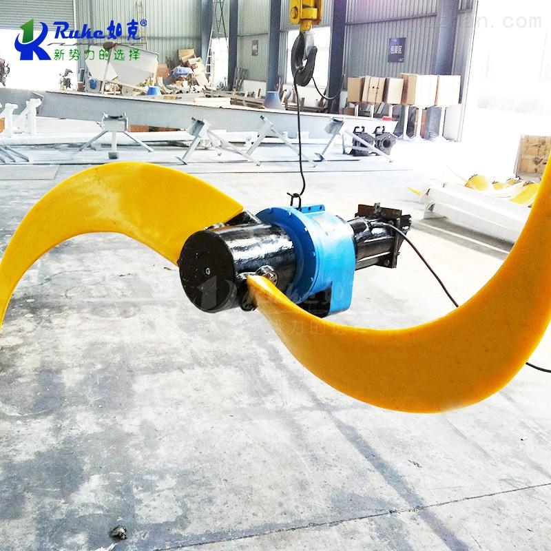 QJB4/4-1400/2-56污水处理潜水搅拌机 电动低速水下推流器