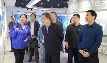 工业和信息化部节能与综合利用司领导到永发机电考察调研