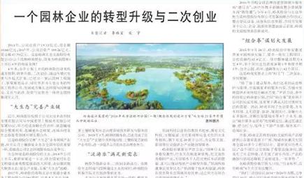 """""""大生态+泛游乐"""" 看岭南股份的转型升级与二次创业"""