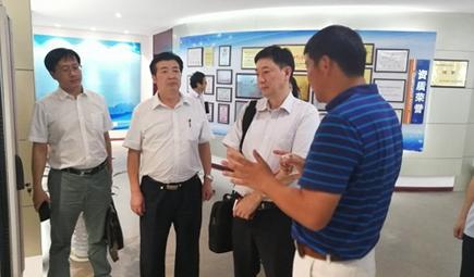 中国环境保护产业协会副会长兼秘书长易斌一行调研皖仪科技