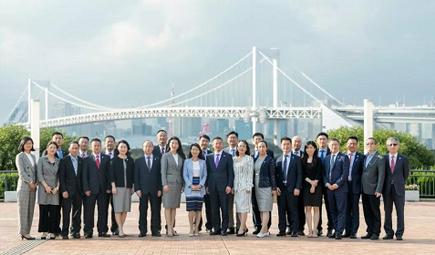 博天环境新管理团队亮相东京 开启全球化新征程