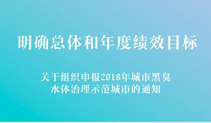 关于组织申报2018年城市黑臭水体治理示范城市的通知