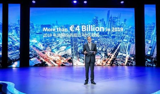 大众宣布2020年将在华交付40万辆新能源汽车 奥迪成为电动攻势主力