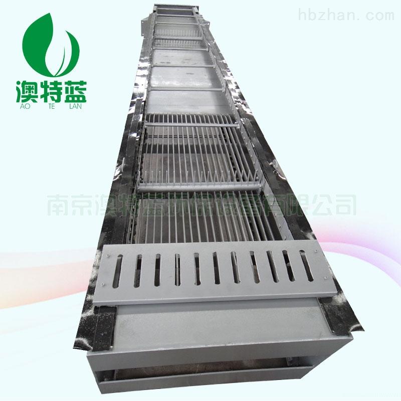 回转式格栅除污机的安装调试和操作运行说明