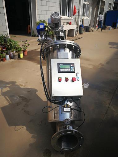 dqdsy-进出口径y型清洗刷式自电动过滤器滚花插销图片