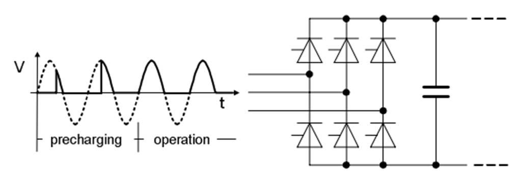 变频器igbt整流电路