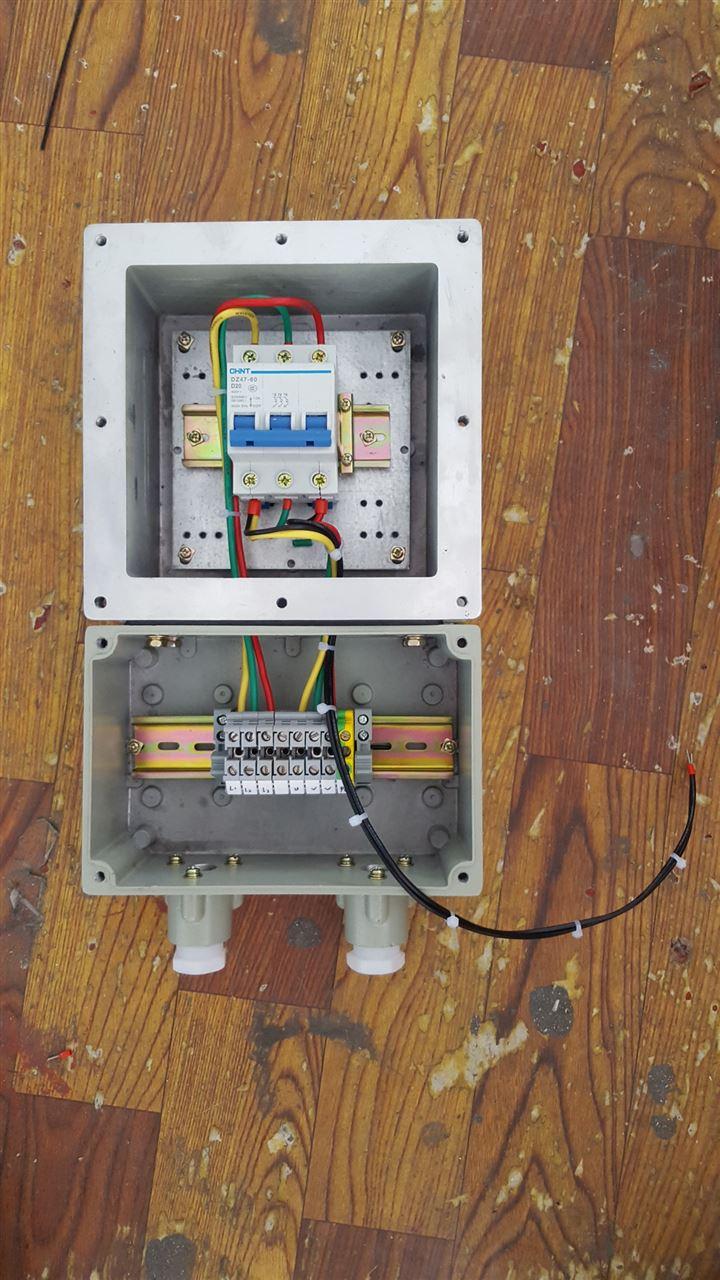 防爆断路器配电箱电源检修箱照明箱