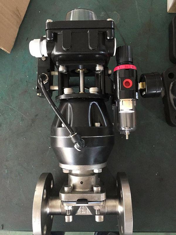 盖米气动隔膜阀图片