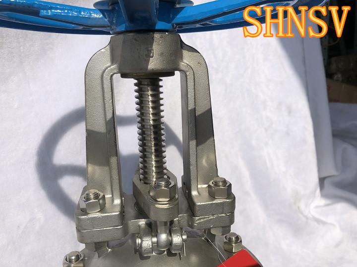 不锈钢法兰闸阀z41w-产品报价-上海核晟阀门制造有限图片