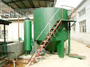 工业园区污水综合治理设备竖流式溶气气浮机原理