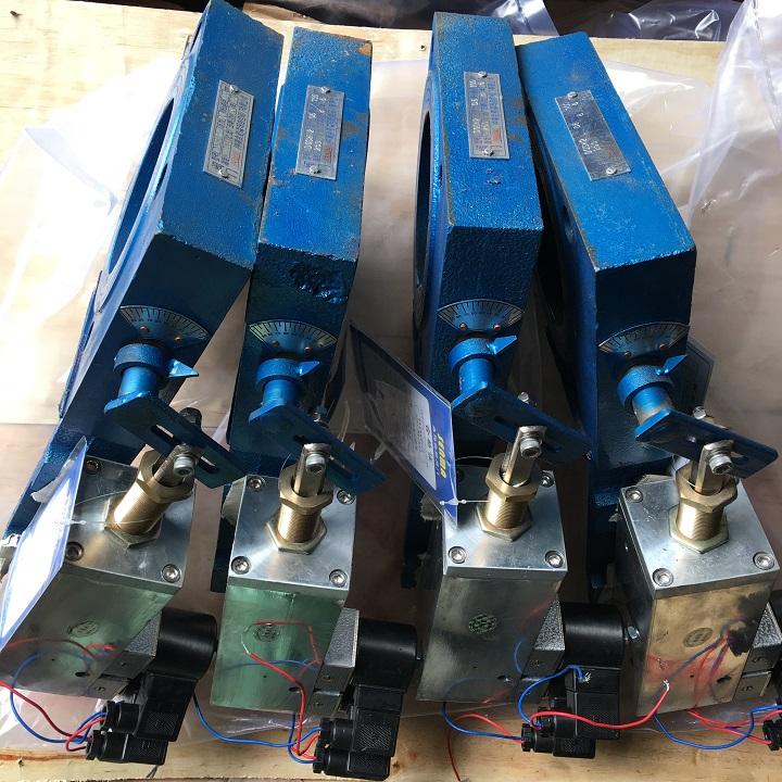 烟气窑气专用气动双位蝶阀DQSW2