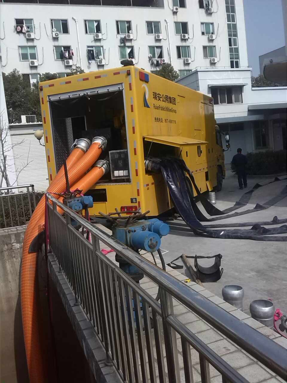 防汛自吸泵案例