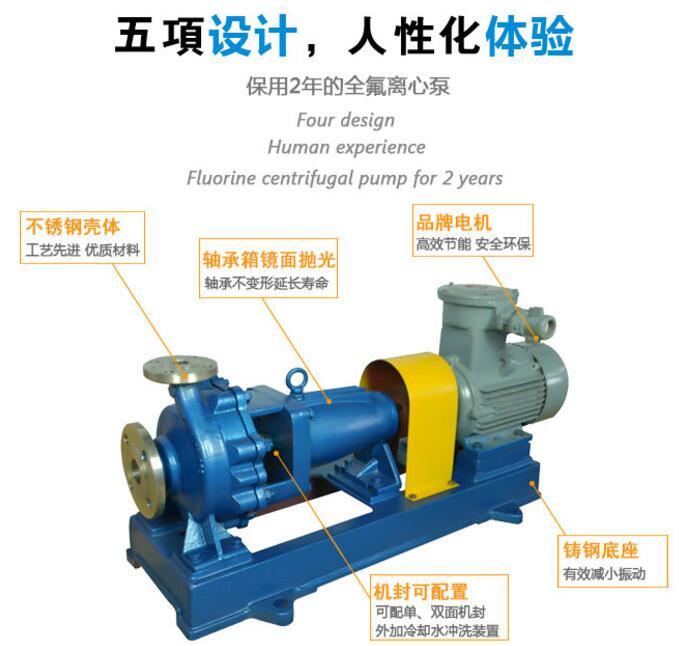 IH化工泵结构特点