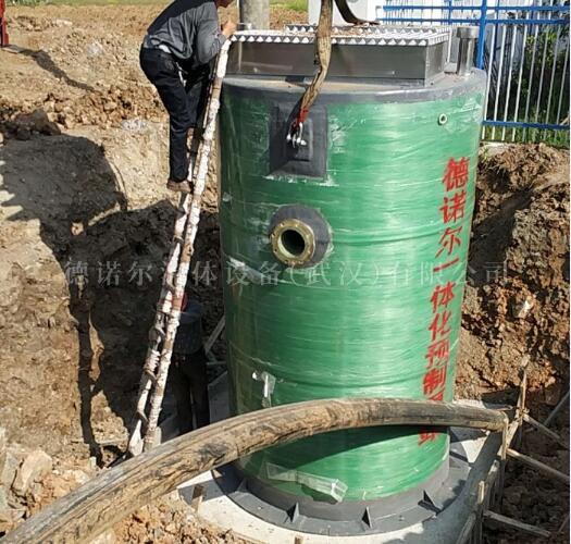 玻璃钢 一体化灌区给水泵站