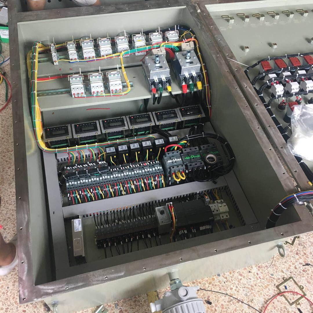 plc防爆控制柜-防爆变频器控制箱-防爆配电箱