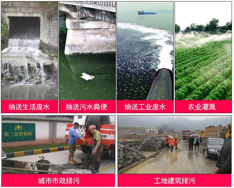 WQ系列潜水排污泵用途