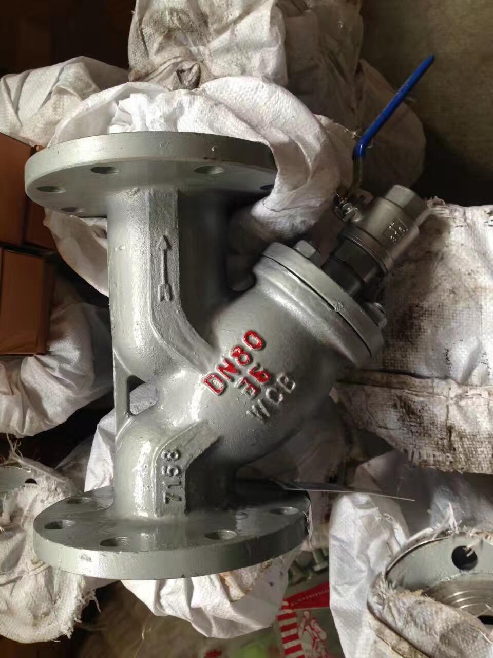 热力带排污口Y型过滤器GL41H排污过滤器