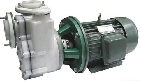 直连式氟塑料高吸程自吸泵