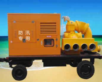 移动排水泵车