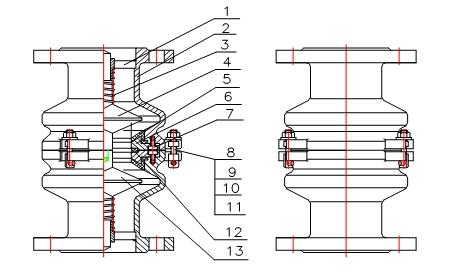 鹤管拉断阀工作原理(图1)