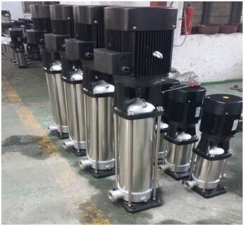 整体不锈钢材质的QDL20-50水泵