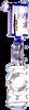 SCZ673H铸钢气动插板阀